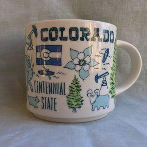 Starbucks Colorado state Been There 14 oz mug